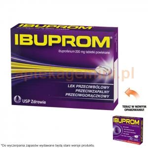 USP ZDROWIE Ibuprom 200mg, 10 tabletek