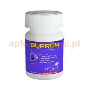 USP ZDROWIE Ibuprom 200mg, 50 tabletek