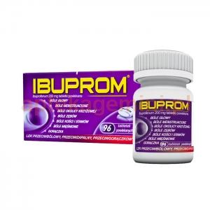 USP ZDROWIE Ibuprom 200mg, 96 tabletek