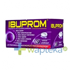 US PHARMACIA SP. Z O.O. Ibuprom 50 tabletek