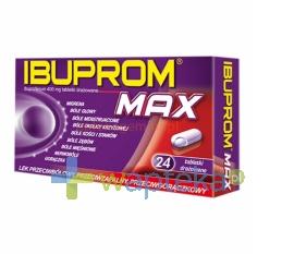 USP ZDROWIE Ibuprom MAX 400mg, 24 tabletki