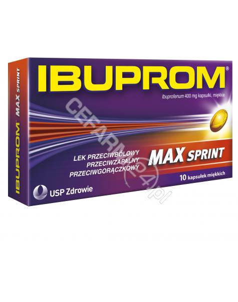 US PHARMACIA Ibuprom max sprint 400 mg x 10 kaps