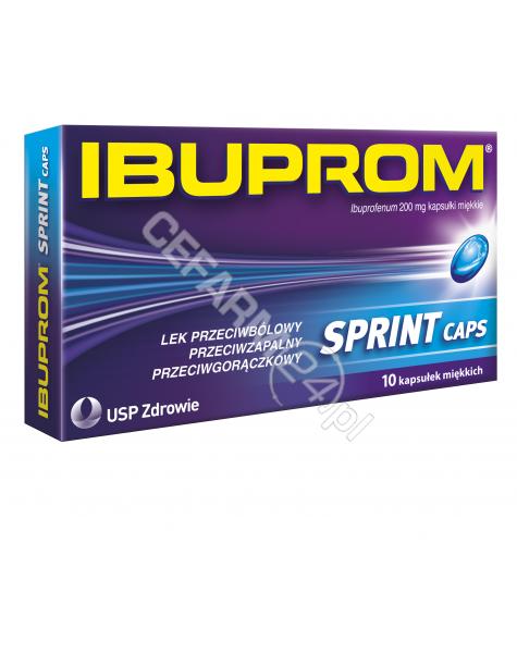 US PHARMACIA Ibuprom sprint caps 200 mg x 10 kaps