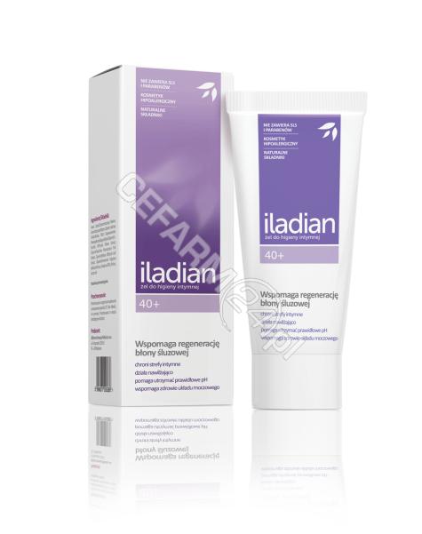 AFLOFARM Iladian 40+ żel do higieny intymnej 180 ml