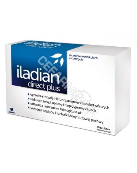 AFLOFARM Iladian direct plus x 10 kaps dopochwowych