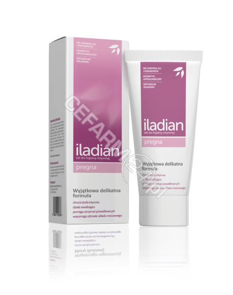 AFLOFARM Iladian pregna żel do higieny intymnej 180 ml