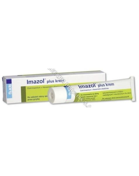 SPIRIG Imazol plus krem (0,01g/2,5mg)/1g 30 g