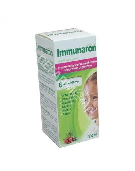 AFLOFARM Immunaron syrop 100 ml (data ważności <span class=