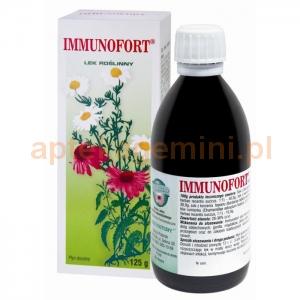 LEKI NATURY Immunofort, płyn doustny, 125g OKAZJA