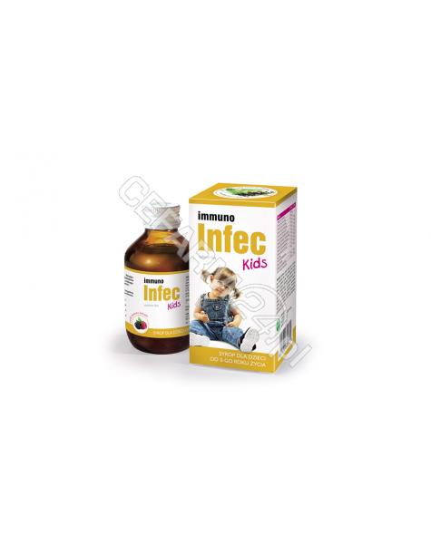GALENA Immunoinfec kids syrop 150 ml o smaku owoców leśnych