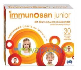 ASA SP.Z O.O. GŁUBCZYCE Immunosan Junior 30 kapsułek