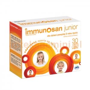 ASA Immunosan Junior, dla dzieci powyżej 3 lat, 30 kapsułek do żucia