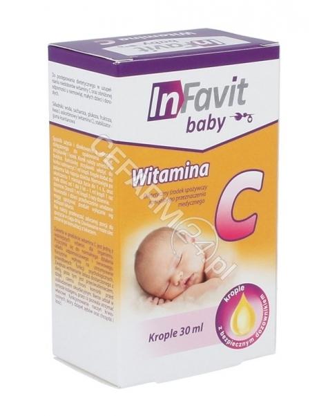 INFARMACJA Infavit baby witamina c krople 30 ml