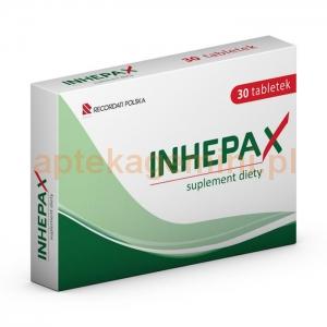 RECORDATI Inhepax, 30 tabletek