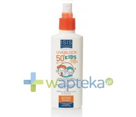 ISIS PHARMA ISIS UVEBLOCK KIDS Spray przeciwsloneczny SPF50 + dla dzieci ULTRA-UVA UVB 150ml
