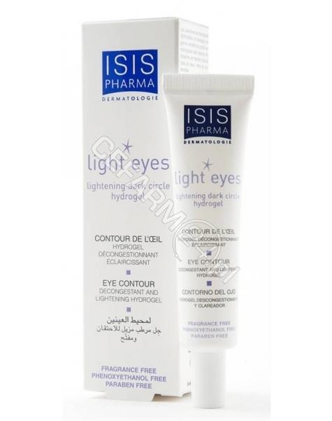 ISIS COSMETI Isispharma light eyes hydro-żel rozjaśniający cienie pod oczami 15 ml