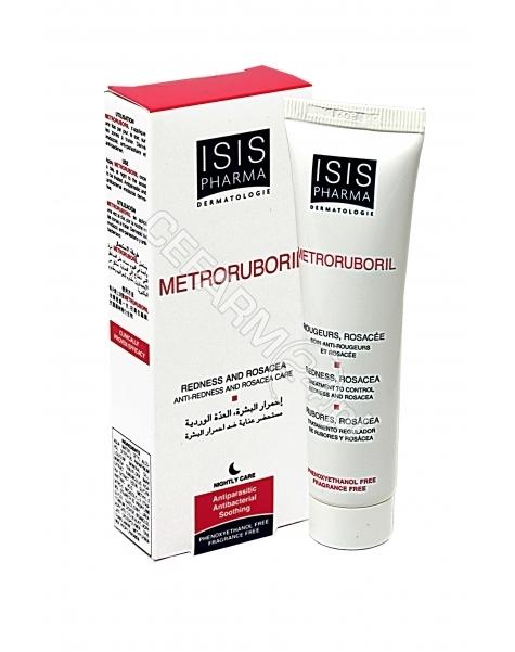 ISIS DERMATO Isispharma metroruboril - krem do skóry zaczerwienionej i z trądzikiem różowatym 30 ml