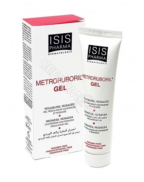 ISIS DERMATO Isispharma metroruboril - żel do skóry zaczerwienionej i z trądzikiem różowatym 30 ml