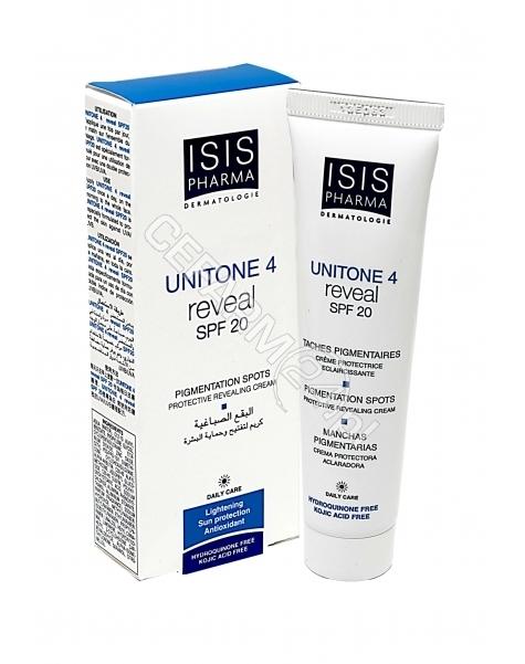 ISISPHARMA Isispharma unitone 4 spf 20 reveal - krem rozjaśniający przebarwienia skóry z filtrem uva/uvb 30 ml