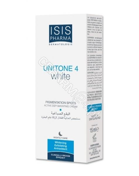 ISISPHARMA Isispharma unitone 4 white - krem na noc rozjaśniający przebarwienia skóry 30 ml