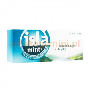 ENGELHARD ARZNEIMITTEL Isla Mint, 30 pastylek