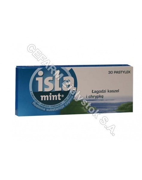 ENGELHARD Isla-mint x 30 pastylek