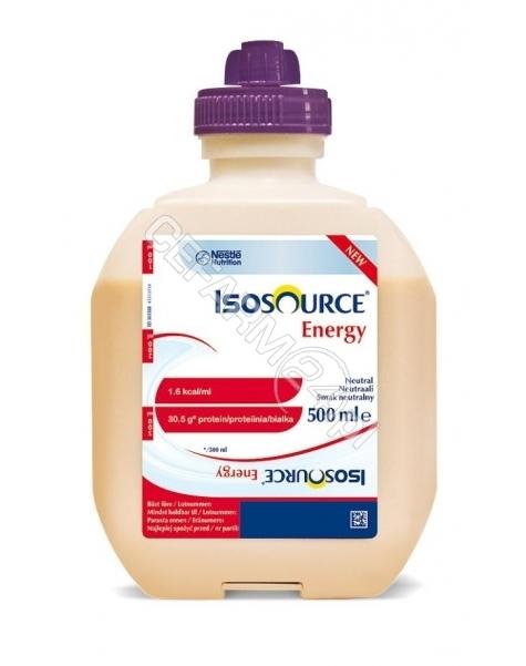 NESTLE Isosource energy smak neutralny 500 ml