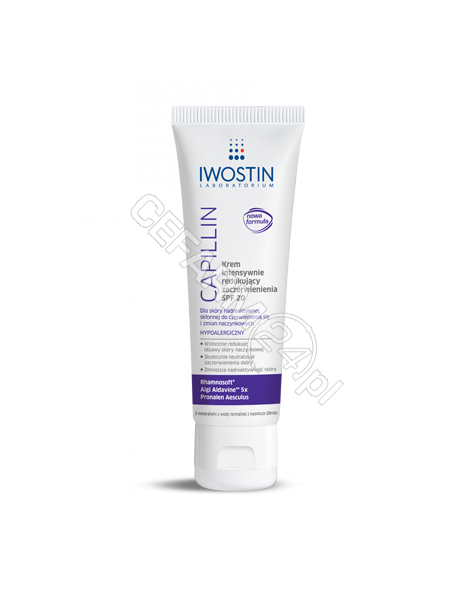 NEPENTES Iwostin capillin krem intensywnie redukujący zaczerwienienia SPF 20 40 ml (nowa formuła)