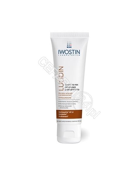 NEPENTES Iwostin Lucidin serum na noc redukujące przebarwienia 40 ml (nowa formuła)