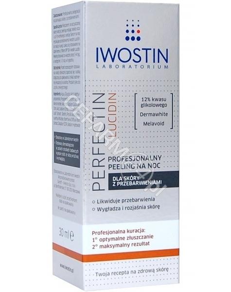 NEPENTES Iwostin Perfectin Lucidin profesjonalny peeling na noc 30 ml
