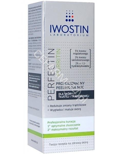 NEPENTES Iwostin Perfectin Purritin profesjonalny peeling na noc 30 ml