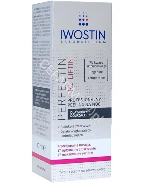 NEPENTES Iwostin Perfectin Re-liftin profesjonalny peeling na noc 30 ml