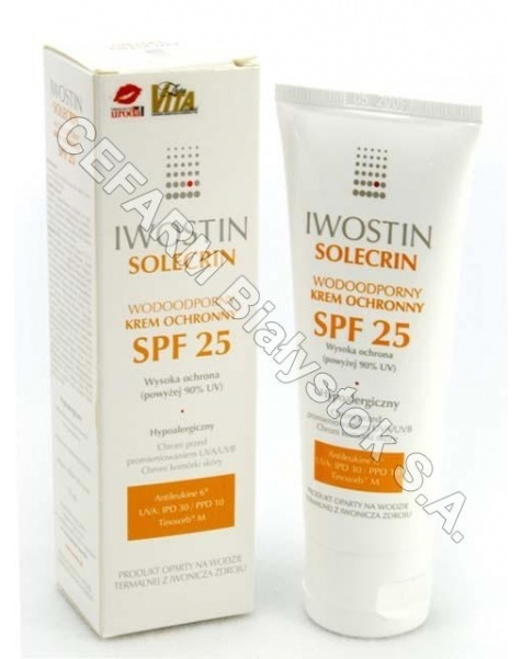 NEPENTES Iwostin solecrin wodoodporny krem ochronny spf-25 75 ml