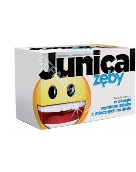 AFLOFARM Junical zęby x 30 tabl do ssania