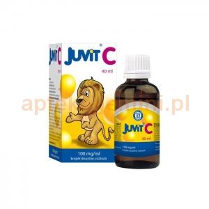 HASCO-LEK Juvit C 100mg/ml, krople dla dzieci od 28 dnia życia, 40ml
