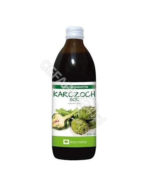 ALTER MEDICA Karczoch sok płyn 500 ml (Alter Medica)