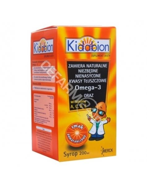 MERCK Kidabion syrop o smaku pomarańczowym 200 ml