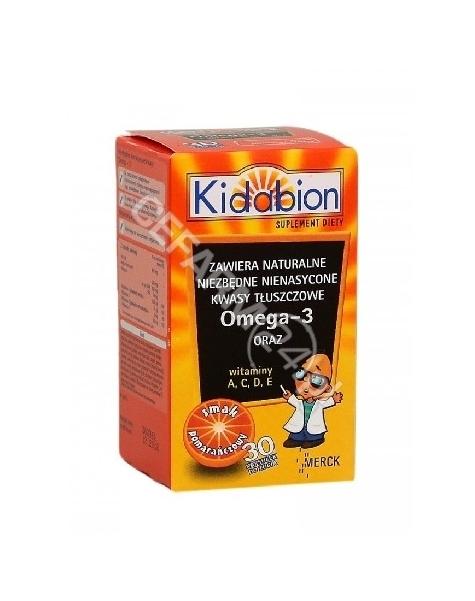 MERCK Kidabion x 30 kaps do żucia o smaku pomarańczowym