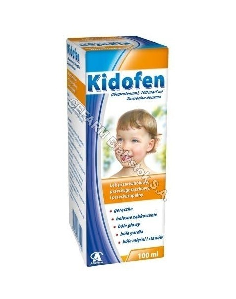 AFLOFARM Kidofen zawiesina 100 mg/5 ml 100 ml