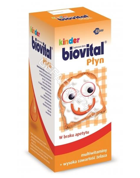 BAYER Kinder biovital multiwitamina płyn 650 ml