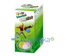 BAYER SP. Z O.O. Kinder Biovital Younior 30 tabletek do ssania