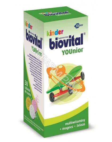 BAYER Kinder biovital younior x 30 tabl do ssania