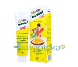 CONSUMER CARE BAYER SP. Z O.O. Kinder Biovital żel pomarańczowy 175 g
