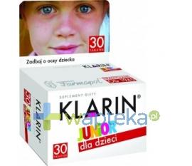 FARMAPOL SP. Z O.O. Z.CH.-F. Klarin JUNIOR od 6 roku życia 30 tabletek