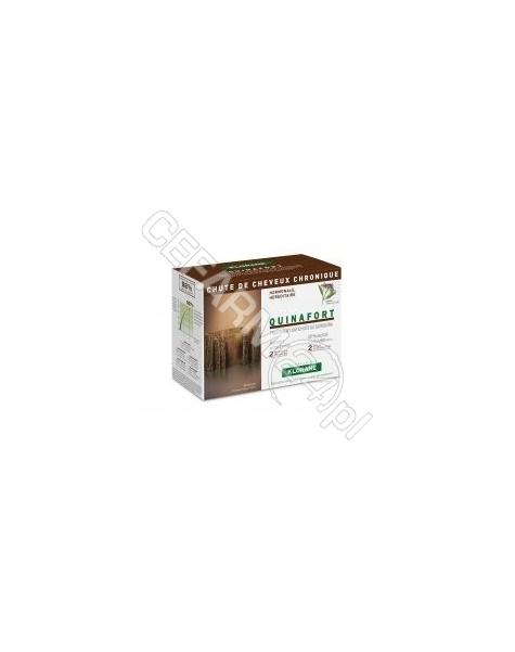 PIERRE FABRE Klorane quinafort kuracja przeciw przewlekłemu wypadaniu włosów x 12 amp