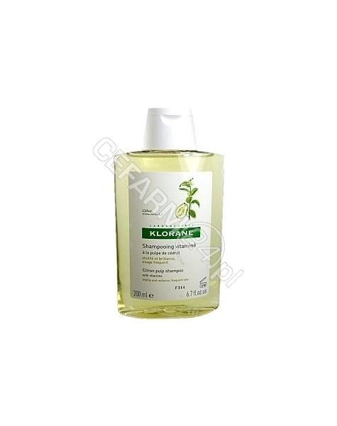 KLORANE Klorane szampon do włosów na bazie wyciągu z cedratu 400 ml
