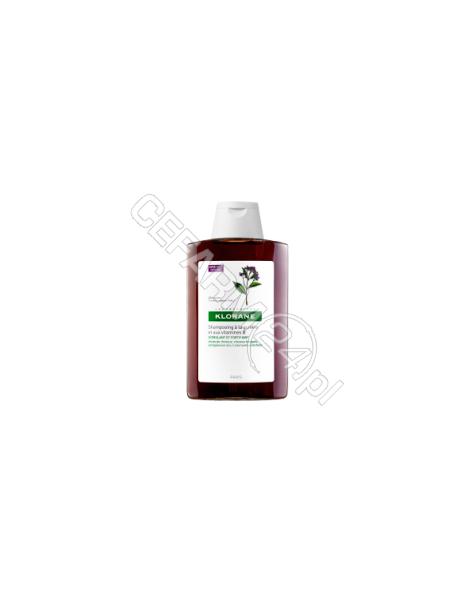 KLORANE Klorane szampon do włosów na bazie wyciągu z chininy i witamin b 400 ml