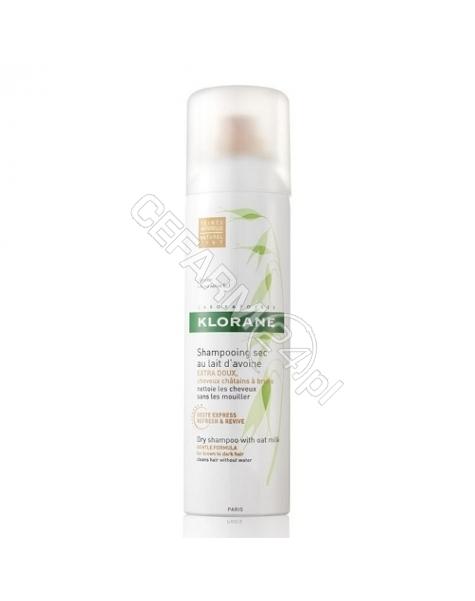 KLORANE Klorane szampon suchy z owsa o naturalnym odcieniu 150 ml