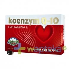 NATURELL POLSKA SP.Z O.O. Koenzym Q-10 30mg + vitamina E 120 kapsułek