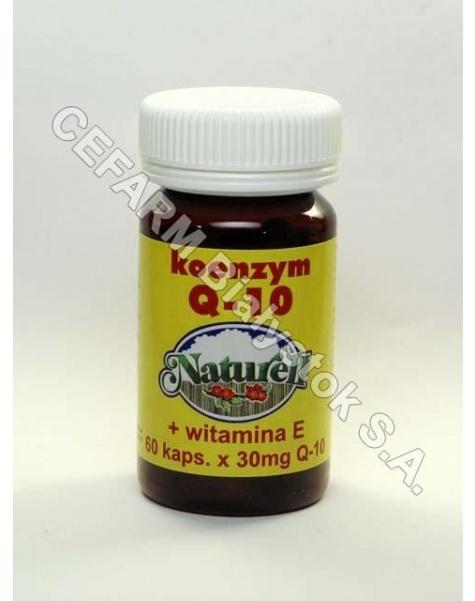 NATURELL Koenzym q10 naturell 30 mg+wit e x 60 kaps